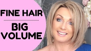 Video How to Get Big Volume in Fine Hair MP3, 3GP, MP4, WEBM, AVI, FLV Agustus 2018