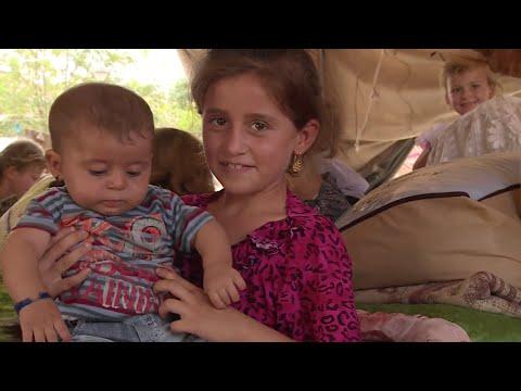 العراق: توزيع مساعدات على النازحين