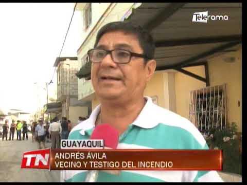 Una pareja de esposos murió tras incendio en una vivienda del Guasmo Sur