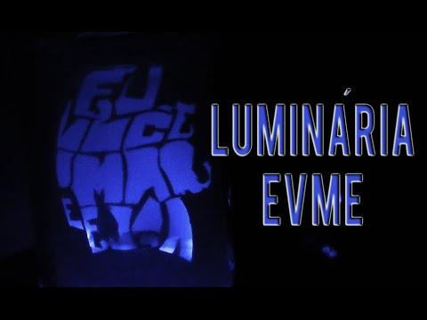 COMO FAZER LUMINÁRIA EVME- LUAN SANTANA-puLSação LS ep.68