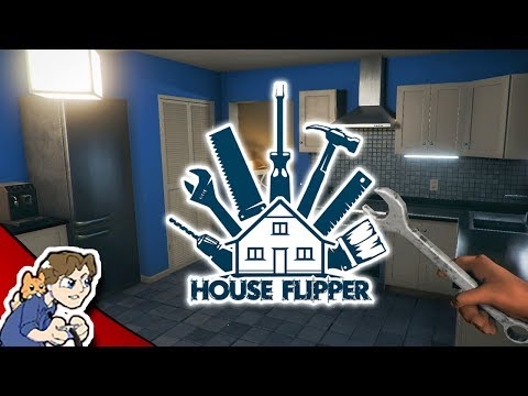 WATCHING PAINT DRY! | House Flipper | ProJared Plays (видео)