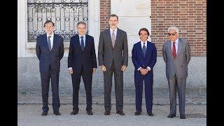 S.M. el rey preside la reunión del Patronato del Real Instituto Elcano