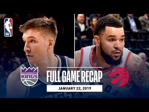 Video: Full Game Recap: Kings vs Raptors | VanVleet Leads Toronto