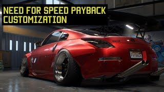 Need for Speed Payback - Customization