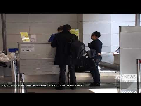 24/01/2020 | CORONAVIRUS, ARRIVA IL PROTOCOLLO  ALLE ULSS