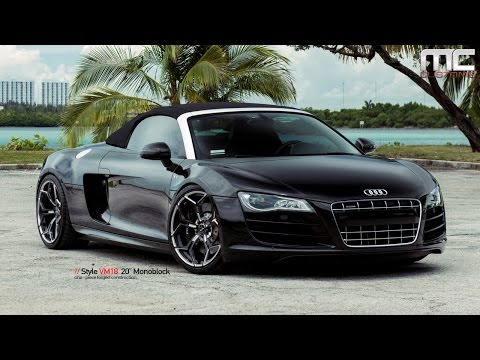 MC Customs | Audi R8 Spyder · Vellano Wheels