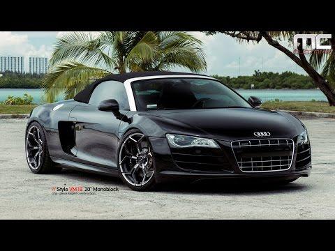 MC Customs | Audi R8 Spyder · Vellano Wheels