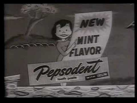 Pepsodent TV Ad 1964