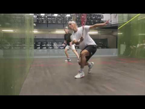Squash tips - Routines & condition games with Paul Carter - Drop-drive routine