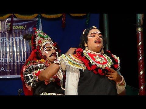 Yakshagana -- Uttarana Pourusha - 6 - Permude Marakada:  Bhagavatharu Padyana Ganapathi Bhat - Chende Yogish Ulepadi - Maddale P.T.Jayaram bhat - Chakrathala Vasanth Vamadapadavu - Jayaprakash Shetty Permude as Brihannala (Arjuna) - Lakshman kumar Marakada as Uttara kumara - Sandeep J Shetty as Uttare - Held at  Neerchal ,on 25.4.2017