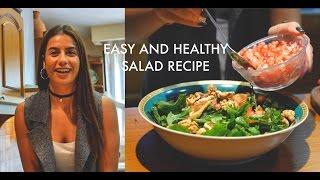 Healthy and easy salad recipe