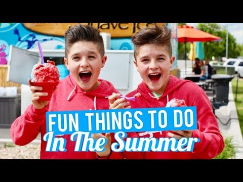 Fun Things to Do in the Summer | Brock and Boston