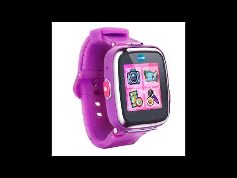 VTech 80-171650 Kidizoom Kids Smartwatch DX, Vivid Violet