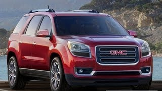 GMC Acadia 2013 ENGLISH VERSION