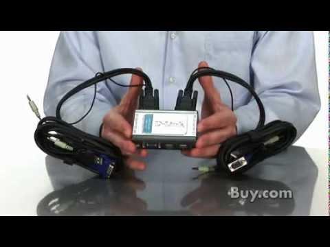 OOKAS D-Link KVM-221 2-Port USB KVM Switch with Audio Support.flv