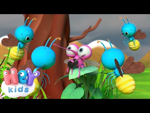 Сел комарик на дубочек - Детские песни - Сборник (видео)