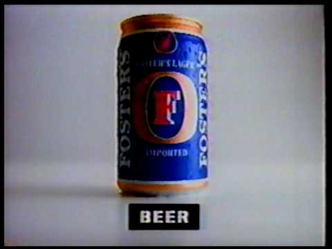 Foster's Beer Commercial