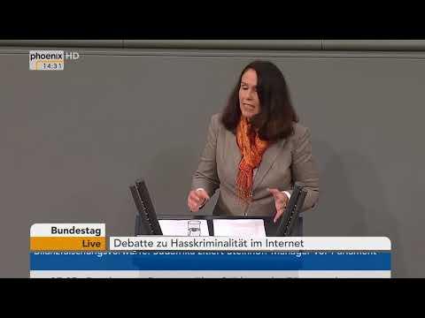 Bundestag - 12. Dezember 2017 - Hasskriminalität im Internet