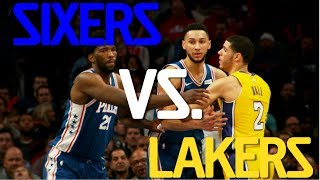 Let's Get It! Lakers vs Sixers (Sound Up)