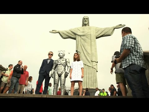 Who - On the very last leg of the tour, the YouTube TARDIS materialises in Rio de Janeiro. As Peter Capaldi and Jenna Coleman admire the view from under the Christ the Redeemer statue, they reflect...