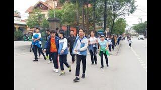 Phường Trưng Vương tổ chức ngày chạy Olympic Vì sức khỏe toàn dân