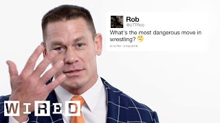 Video John Cena Answers Wrestling Questions From Twitter | Tech Support | WIRED MP3, 3GP, MP4, WEBM, AVI, FLV Agustus 2018