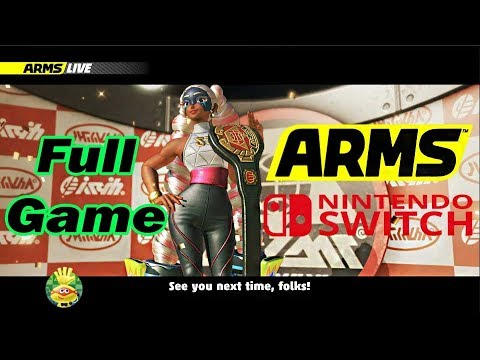 ARMS Nintendo Switch Full GamePlay