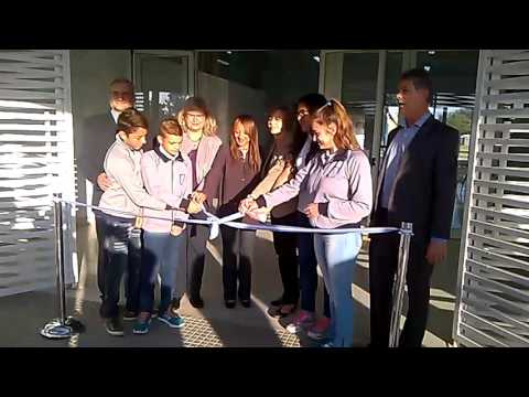 Inauguración edificio EESO Nº 564 - Lehmann. 03-05-17 (видео)