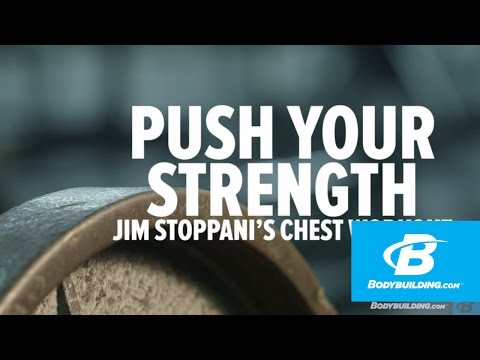 Push Your Strength: Jim Stoppani's Chest Workout – Bodybuilding.com