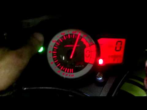 comment regler shift light r1 2004