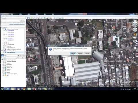 IDRISIA - Video instructivo acerca de cuáles son los pasos a seguir para poder exportar vectores desde un archivo autocad (.dwg) a google earth (.kmz).