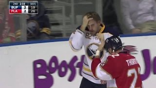 Watch Marcus Foligno Fix His Hair Before Fight with Shawn Thor...