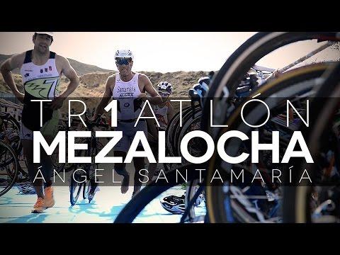 I Triatlón Sprint de Mezalocha. Campeonato de Aragón 2014.