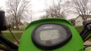 2. Arctic Cat 400 Top Speed