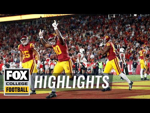 Video: USC and third-string QB Matt Fink upset No. 10 Utah | FOX COLLEGE FOOTBALL HIGHLIGHTS