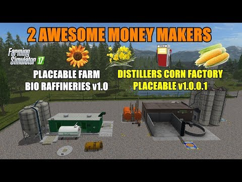 Placeable Farm Bio Raffinerie v1.0.0