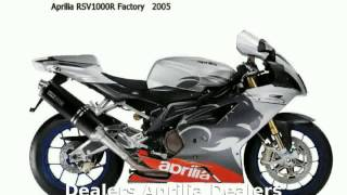 1. 2005 Aprilia RSV 1000 R FACTORY -  Features motorbike Details Specs Transmission superbike