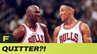 Britt Johnson Explains Why Scottie Pippen Is A QUITTER & Let The Bulls Down Throughout His Career by Obsev Sports