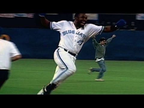 Joe Carter's 1993 World Series walk-off homerun