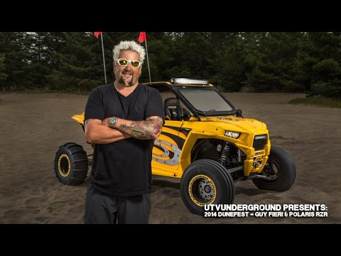 UTVUnderground Presents: 2014 Dunefest - Guy Fieri & Polaris RZR