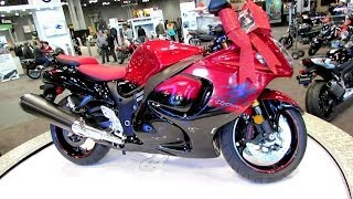 10. 2014 Suzuki GSX-R1300 Hayabusa Walkaround  - 2013 New York Motorcycle Show