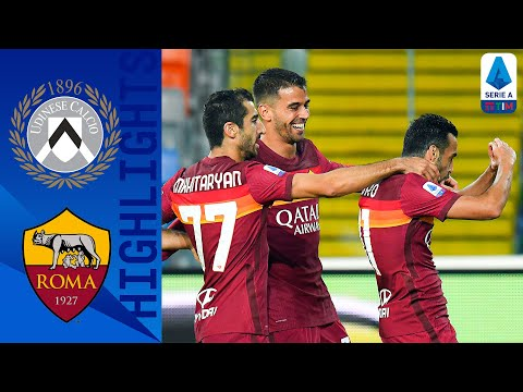 Udinese 0-1 AS Roma   Pedro Seals First Win Of The Season With Magnificent Solo Goal   Serie A TIM