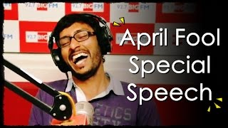 Video R.J. பாலாஜி - April Fool Special Speech - Balaji MP3, 3GP, MP4, WEBM, AVI, FLV November 2017