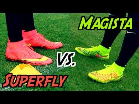 Nike_Mercurial_Video - Nike Mercurial Superfly 4 VS. Nike Magista Obra | Football Boot Battle ▻ Rate, Comment & SUBSCRIBE for more: http://bit.ly/11qa7zR ▻ Like our FACEBOOK: http:...