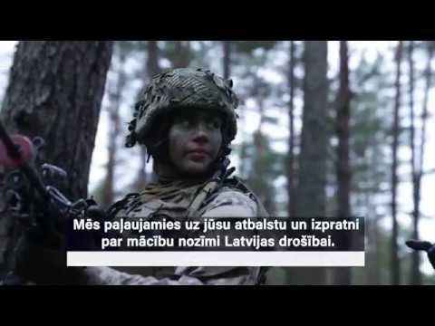 Šogad Latvijā norisinās militārās mācības