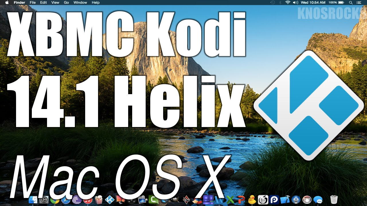How To Install Kodi 14.1 Helix XBMC Mac OS X