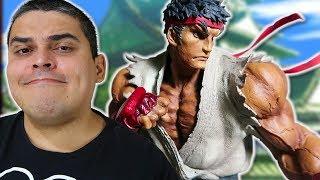 Unboxing da estátula Ryu Legendary Fighters Legendary Street Fighter III 3rd Strike. Como assim o Velberan está Voltando para...