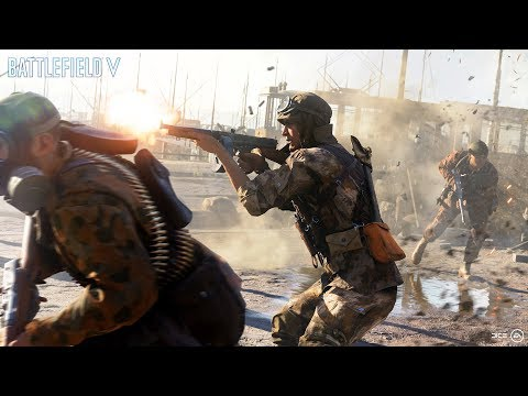 Battlefield 5 – Official Gamescom Trailer – Devastation of Rotterdam (видео)