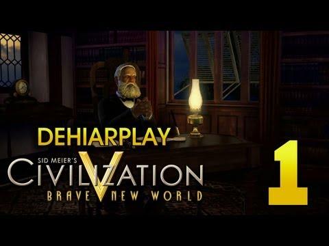Поднимаем Бразилию в Civilization V: Brave New World - 1 серия