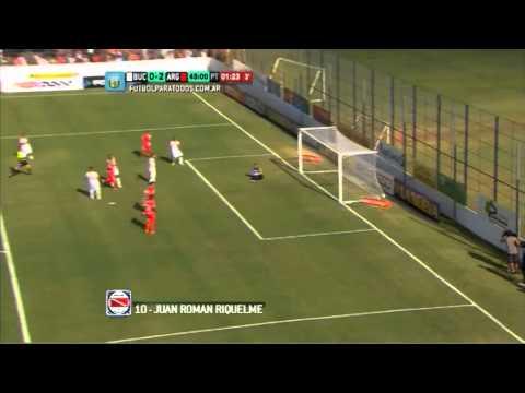 Video Juan Roman Riquelme gol de Riquelme ante Boca Unidos